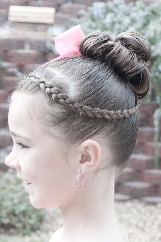 Easy Girl Hairstyles | Dance Recital Hair Ideas – Google Search Within Most Up To Date Braided Hairstyles For Dance Recitals (View 7 of 15)