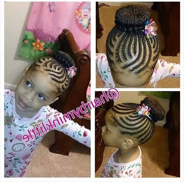 Easy Little Girl Braid Style | Hairstyles For Little Girls Pertaining To Most Recently Braided Hairstyles For Little Girls (View 4 of 15)
