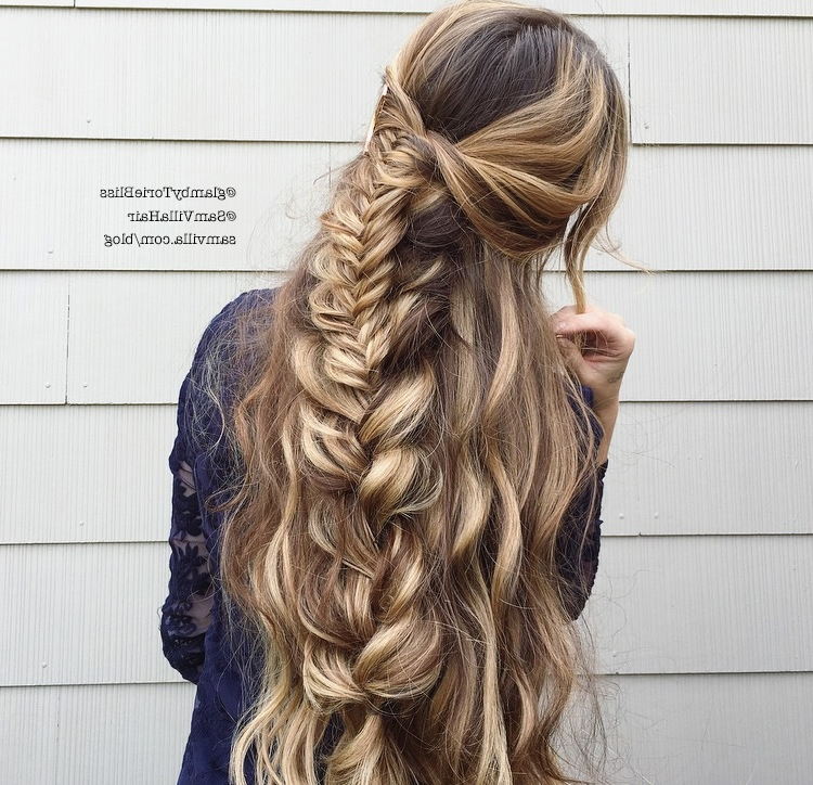 Effortless Diy Bohemian Braided Hairstyle Within Most Recent Boho Braided Hairstyles (View 5 of 15)