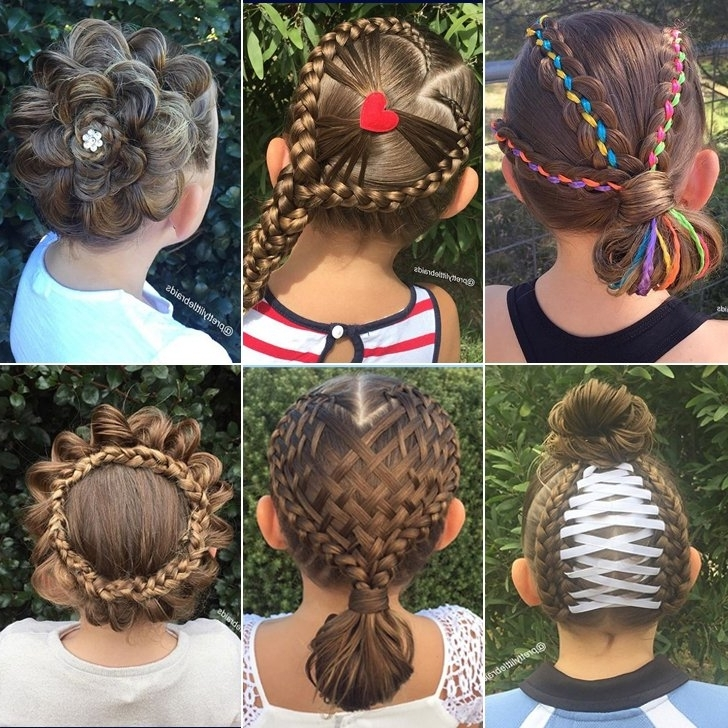 Elaborate Hair Braid Ideas For Little Girls | Popsugar Moms Within Most Recent Braid Hairstyles For Little Girl (View 11 of 15)
