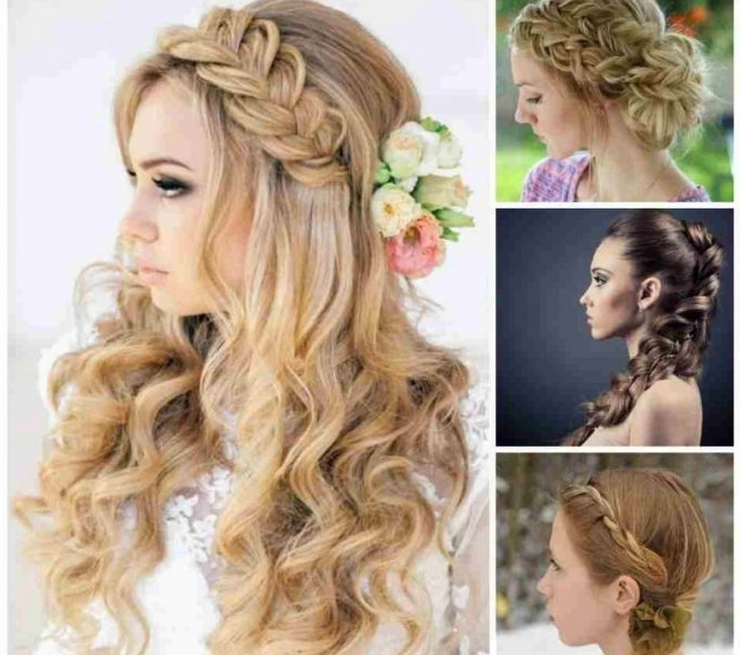 Elegant Braided Hairstyles : Styling Hairstyle 2018 – Styling Pertaining To Best And Newest Elegant Braid Hairstyles (View 7 of 15)