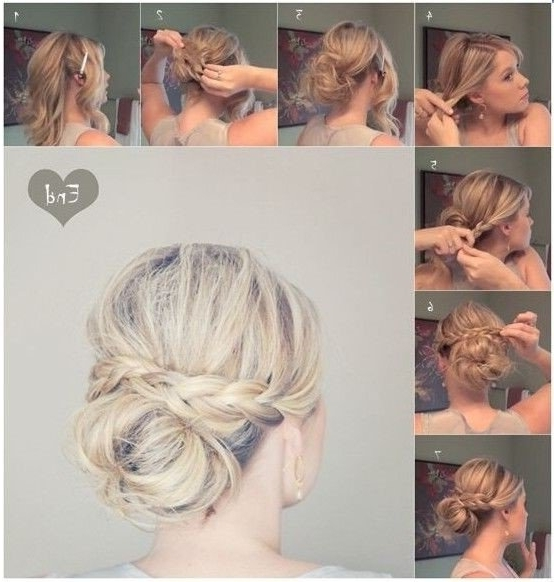 Elegant Low Bun With Braided Hairstyle | Styles Weekly For Most Popular Elegant Braid Hairstyles (View 12 of 15)