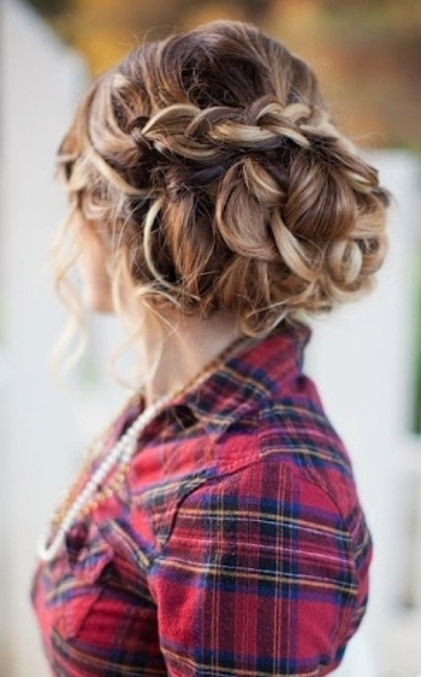 Elegant Updos Archives – Pretty Designs Throughout Most Recently Unique Braided Up Do Hairstyles (View 8 of 15)