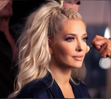 Erika Girardi/jayne Hair — French Braid Down Center, Hair Half Up With Regard To 2018 Messy French Braid With Middle Part (View 2 of 15)