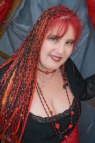 Fashion Hairstyles: Red And Black Braid Hairstyle Inside Latest Braided Hairstyles For Red Hair (View 7 of 15)