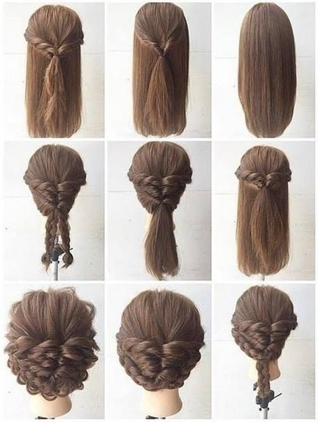 Fashionable Braid Hairstyle For Shoulder Length Hair – Www (View 2 of 15)