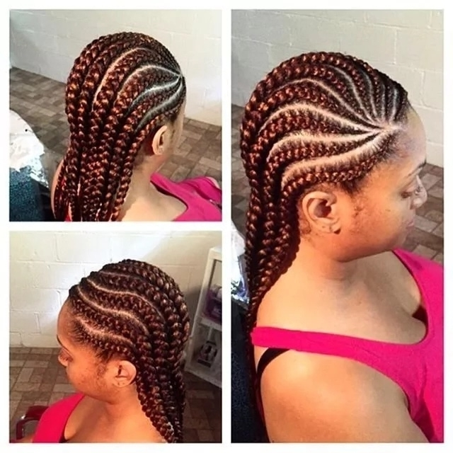 Fashions World: Nigerian Cornrow Hairstyles 2017 Throughout Latest Nigerian Cornrows Hairstyles (View 4 of 15)