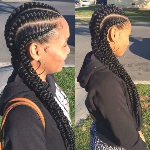 Fat Cornrows | New2Natural Hair Care And Natural Hair Advice With With Recent Thick Cornrows Hairstyles (View 8 of 15)