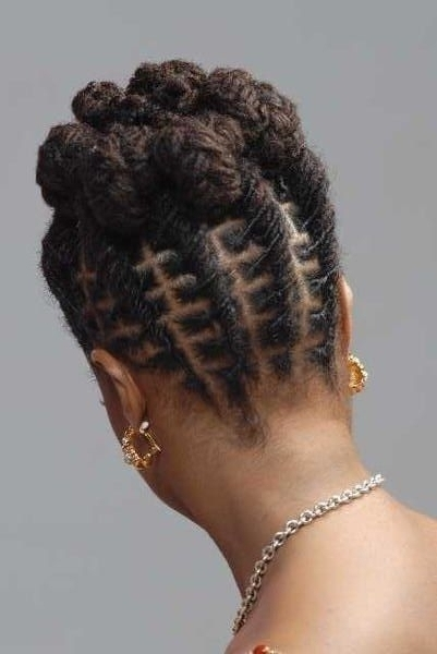 Featured Photo of Braided Dreadlock Hairstyles For Women