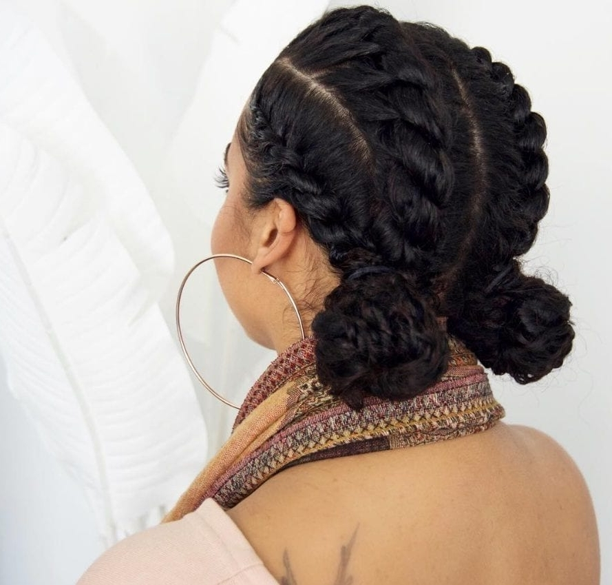 Flat Twist Hairstyles: 13 Fierce Looks From Instagram That You Have In Most Recently Reverse Flat Twists Hairstyles (View 11 of 15)