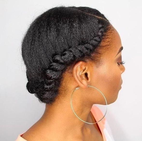 Flat Twist Hairstyles: 13 Fierce Looks From Instagram That You Have Inside Most Recently Reverse Flat Twists Hairstyles (View 13 of 15)