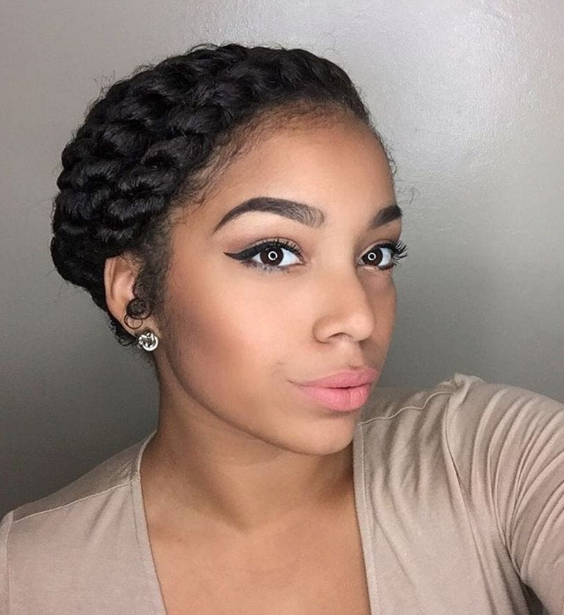 Flat Twist Hairstyles: 13 Fierce Looks From Instagram That You Have With Most Current Reverse Flat Twists Hairstyles (View 8 of 15)