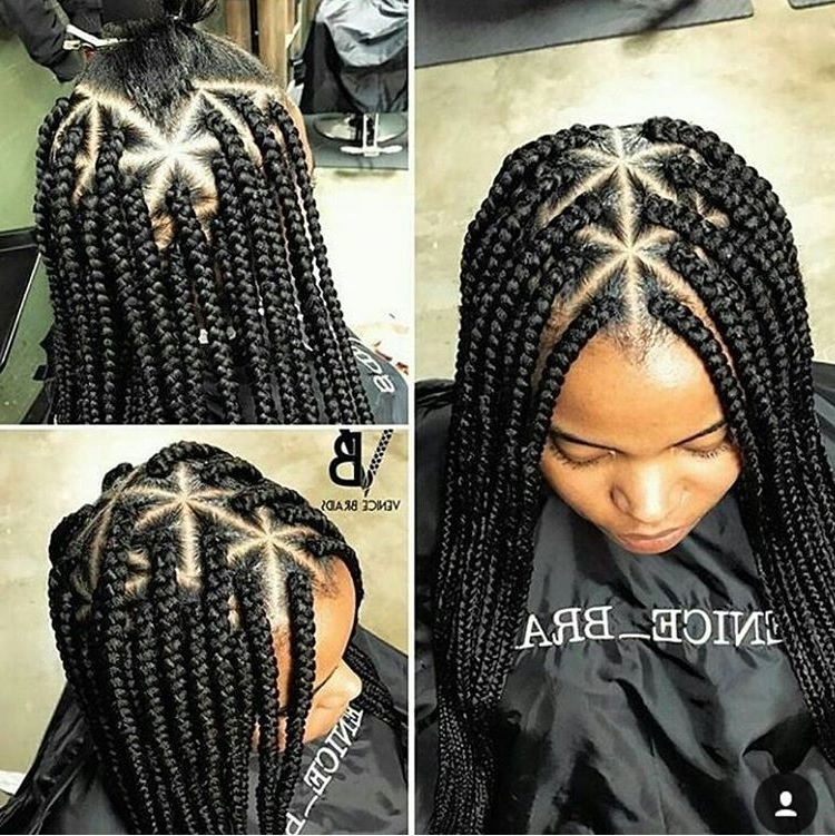Follow Me For More @queenalise? | Curls | Pinterest | Triangles With Most Popular Triangle Box Braids Hairstyles (View 13 of 15)