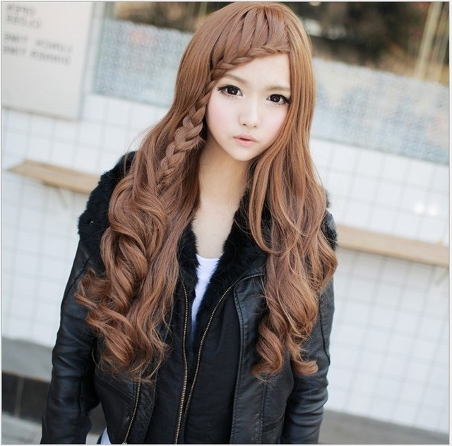 Free Shipping 2014 New Japanese And Korean Fashion High Temperature Throughout Most Current Japanese Braided Hairstyles (View 8 of 15)
