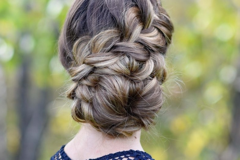 French Braid | Cute Girls Hairstyles In Latest Diagonal French Braid Hairstyles (View 9 of 15)