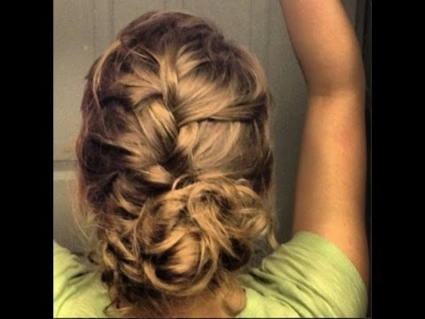 French Braid Updo With A Bun – Prom, Wedding, Or Special Occasion Pertaining To Best And Newest Formal Braided Bun Updo Hairstyles (View 15 of 15)