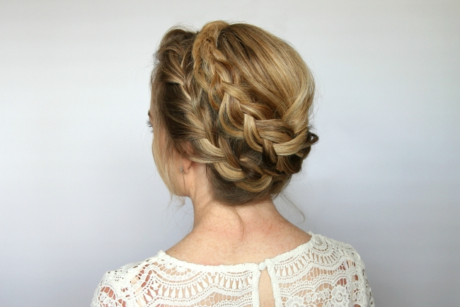 French Milkmaid Braids   Missy Sue With Regard To Most Up To Date Milkmaid Braided Hairstyles (View 14 of 15)