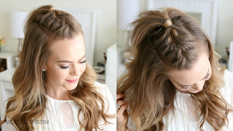 French Mohawk Braid | Missy Sue For Most Popular Mohawk French Braid Hairstyles (View 2 of 15)