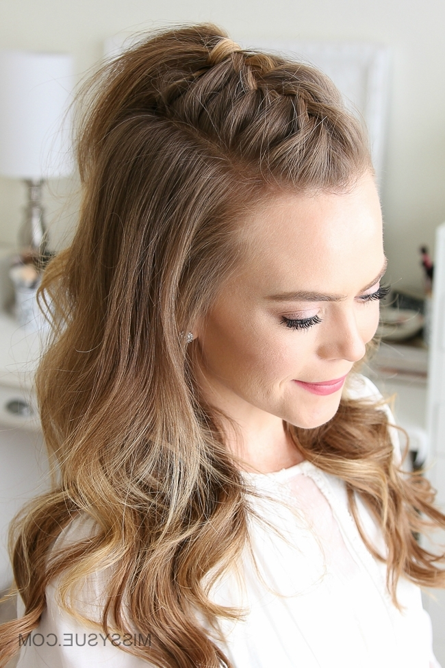 French Mohawk Braid | Missy Sue Inside Most Popular Mohawk French Braid Hairstyles (View 3 of 15)