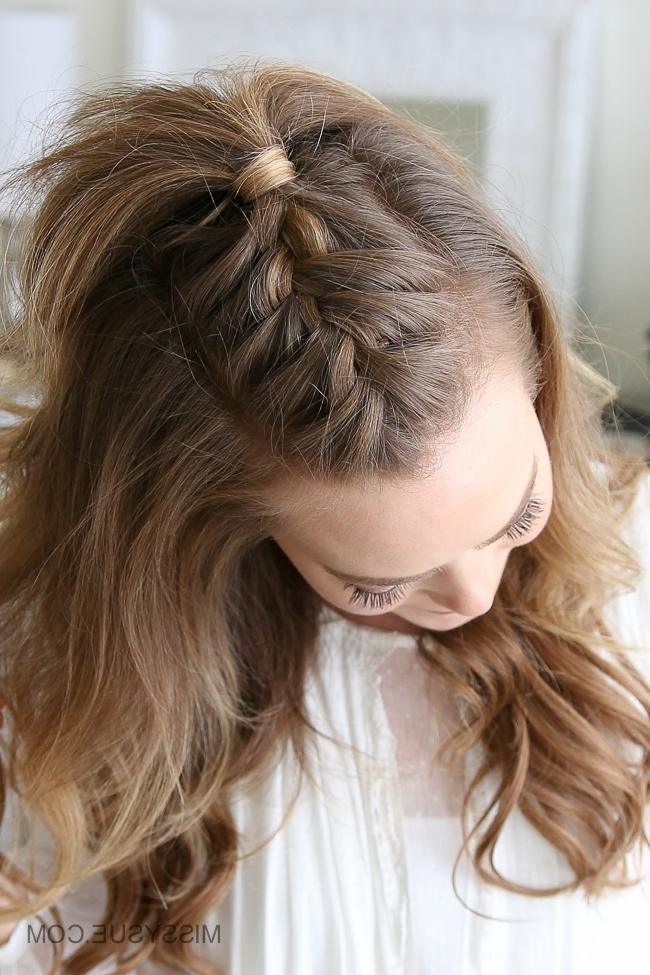 French Mohawk Braid | Missy Sue With Current Mohawk French Braid Hairstyles (View 7 of 15)