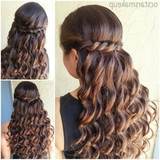 Fresh Quinceanera Hairstyles For Long Hair With Curls   Afrohair (View 12 of 15)
