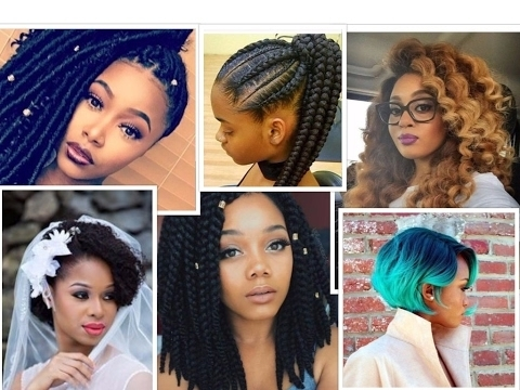 From Crochet Braids, To Weave Hairstyles, To Natural Hair, To With Regard To Most Recently Braided Extension Hairstyles (View 5 of 15)