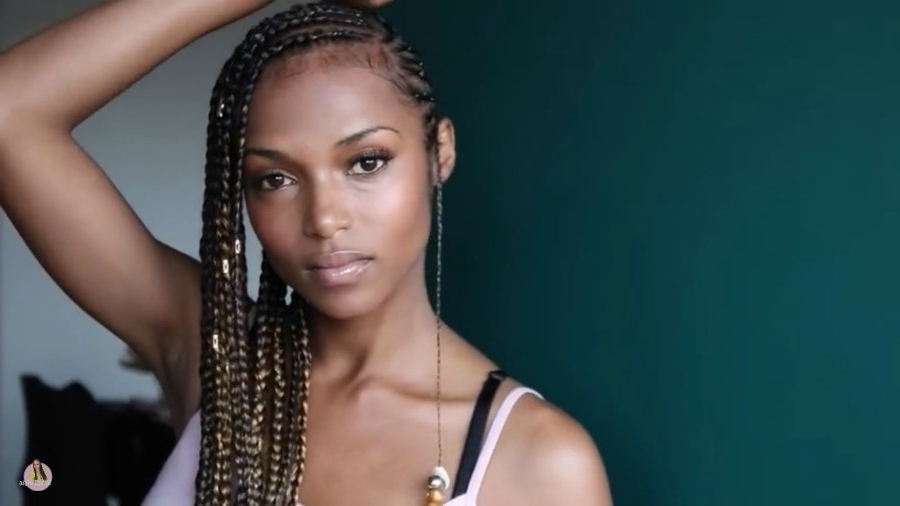 Fulani Braids (Braids With Beads), Everything You Need To Know | Un Ruly Pertaining To Current Simple Center Part Fulani Braids With A Forehead Bead (View 11 of 15)