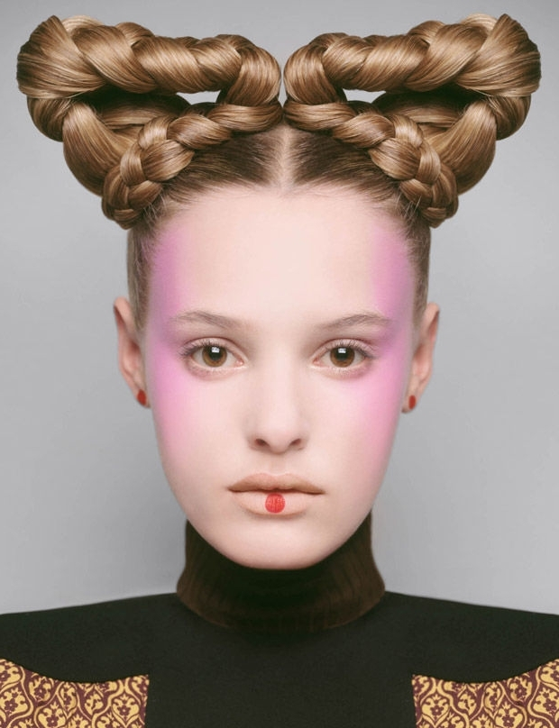 Futuristic Hair Editorials : Braided Hairstyle For Most Up To Date Queen Braided Hairstyles (View 11 of 15)