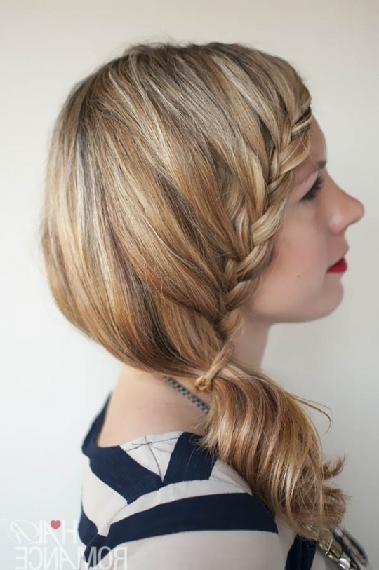 Gallery: Braided Side Ponytail Hairstyles, – Black Hairstle Picture With Newest Side Ponytail Braided Hairstyles (Gallery 4 of 15)