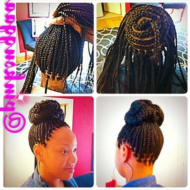 Gallery: Quick Hair Braiding Styles, – Black Hairstle Picture In Within Most Popular Quick Braided Hairstyles For Black Hair (Gallery 10 of 15)
