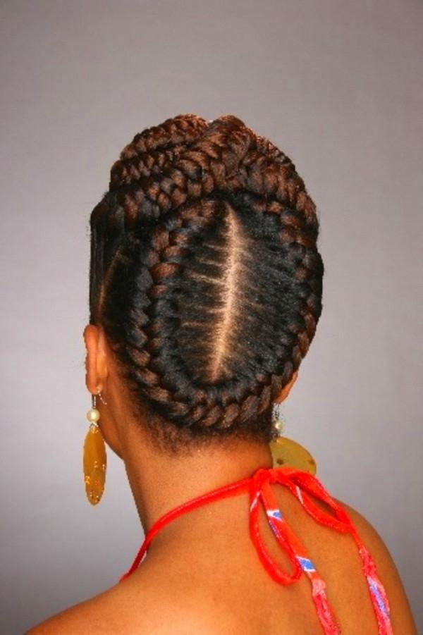 Goddess Braids Hairstyles With Bangs – Goddess Braids Hairstyles With Regard To Most Current Criss Cross Goddess Braids Hairstyles (Gallery 8 of 15)