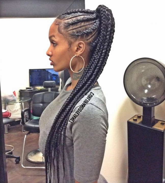 Goddess Extensions Black Hairstyles Easy Of Cornrows With Extensions With Regard To Most Recent Cornrows Hairstyles With Extensions (Gallery 11 of 15)
