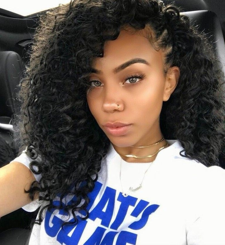Good Curly Weave Hairstyles With Braids – Hairstyles Ideas Inside Most Recent Braided Hairstyles With Curly Weave (View 7 of 15)