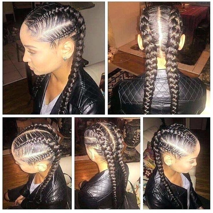 Good Hairstyles With Weave Braids And Best Black Braided Hairstyles regarding Most Current Braided Hairstyles