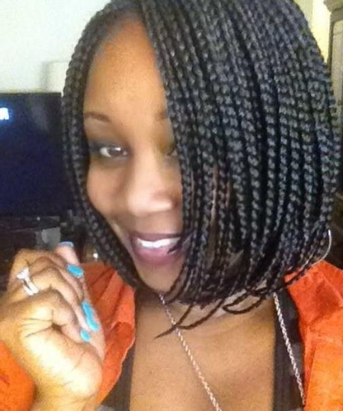 Gorgeous Black Braided Hairstyles For Medium Hair – Braided With Regard To Latest Braided Hairstyles On Relaxed Hair (Gallery 12 of 15)