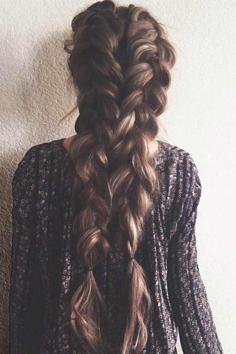 Gorgeous Ideas Of Dutch Braid Hairstyles 2018 – My Stylish Zoo In Most Up To Date Messy Double Braid Hairstyles (Gallery 3 of 15)