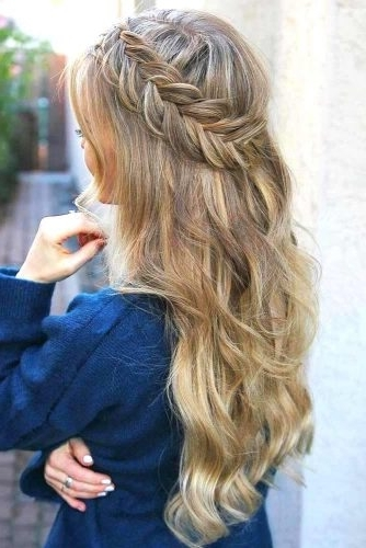 Gorgeous Ideas Of Dutch Braid Hairstyles 2018 – My Stylish Zoo Regarding Newest Dutch Braid Hairstyles (Gallery 14 of 15)