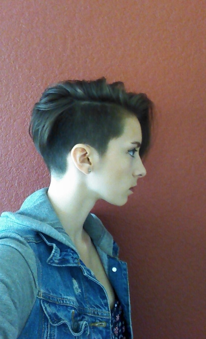 Got An Undercut Pixie!! I Looove It! | Pixie Cuts | Pinterest Intended For Latest Chick Undercut Pixie Hairstyles (Gallery 3 of 15)