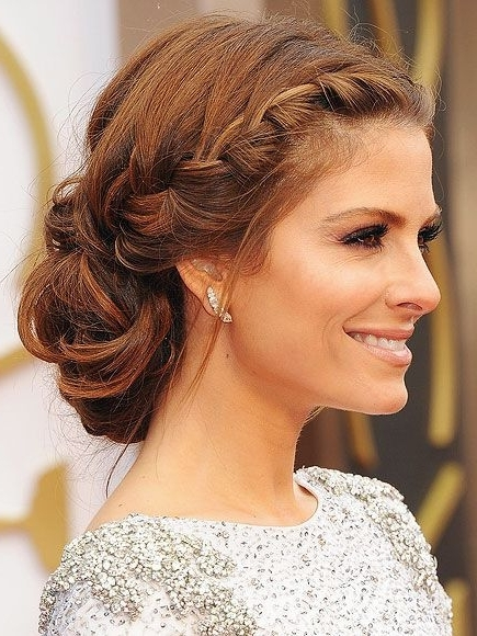 Graceful And Beautiful Low Side Bun Hairstyle Tutorials And Hair Inside Recent Side Bun With Double Loose Braids (Gallery 14 of 15)
