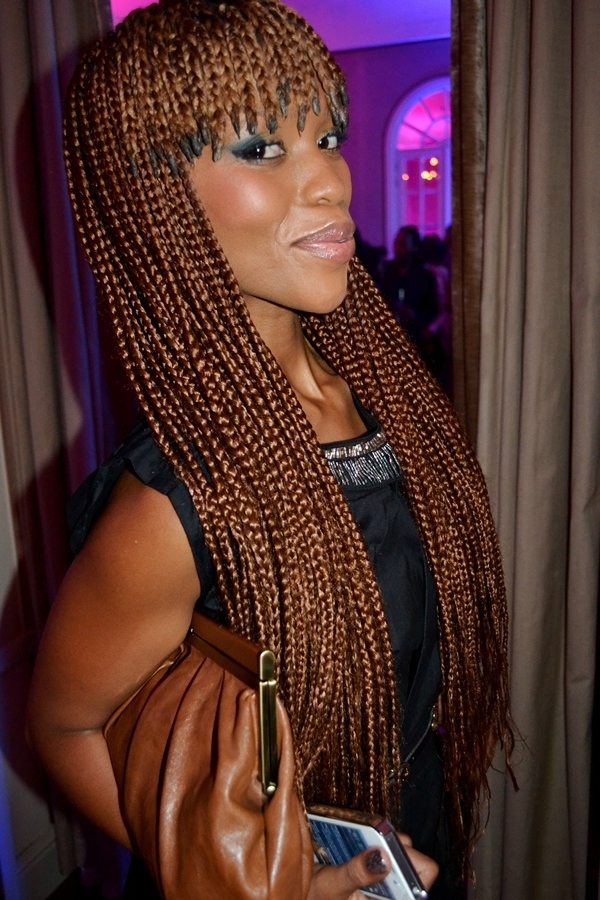 Graceful Hair Makeover: Braided Bangs In Current Cornrows Hairstyles With Bangs (Gallery 7 of 15)
