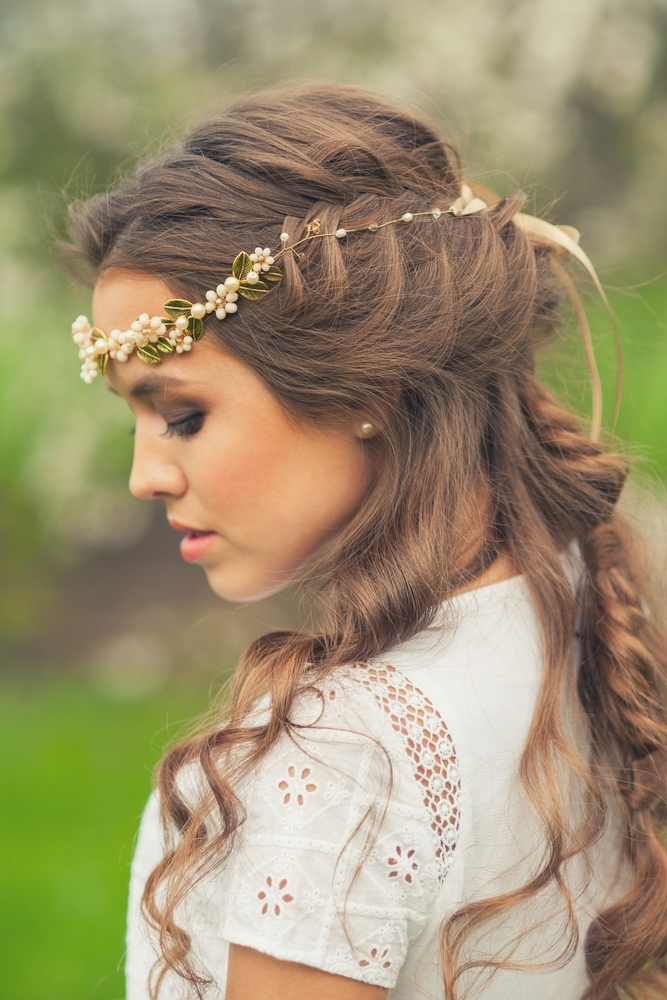Greek Goddess Hairstyles | Lionesse Flat Irons In 2018 Braided Greek Hairstyles (Gallery 14 of 15)