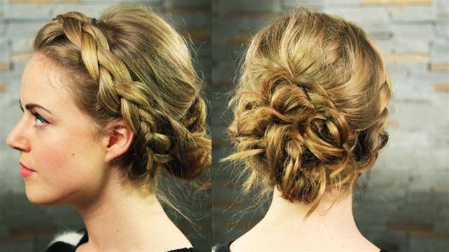 Greek Hairstyles Turn You Into Grecian Goddess – Thewolfian Fashion Mag Inside Best And Newest Braided Greek Hairstyles (Gallery 4 of 15)