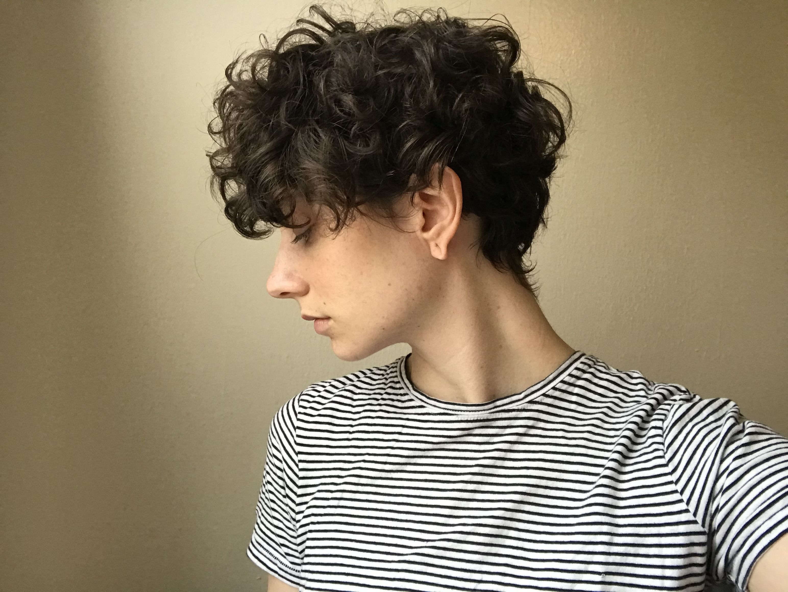 Growing Out Short Curly Hair | Boys | Pinterest | Short Curly Hair With Regard To Most Recently Growing Out Pixie Haircuts For Curly Hair (Gallery 4 of 15)