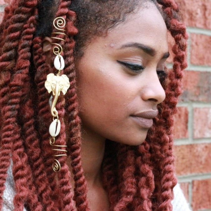 Hair Accessories | Product Categories | Akilah Itàn With Regard To Most Up To Date Braided Hairstyles With Jewelry (View 7 of 15)