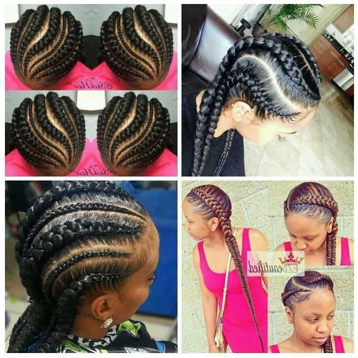Hair Challenges: Ghana Braids/ Ghana Invisible Braids/feed In Within Recent Invisible Cornrows Hairstyles (View 12 of 15)