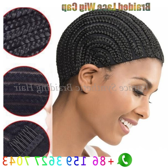 Hair Extensions Dome Cap Crochet Braids Cornrows Wig Cap For Making Regarding Latest Cornrows And Sew Hairstyles (View 15 of 15)