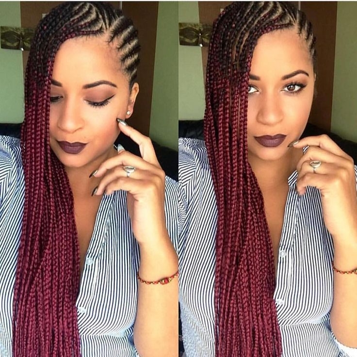 Hair Of The Day | Goddess Faux Locs, Goddess Locs, Best Of Goddess In Most Popular Cornrows Hairstyles To The Side (View 2 of 15)