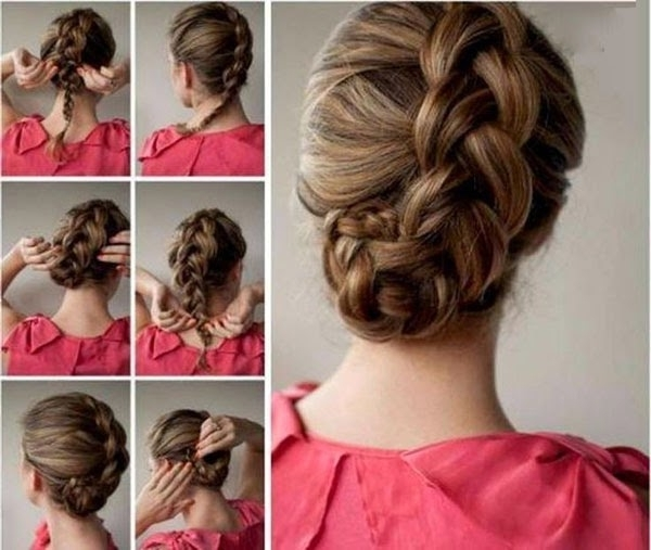 Hair Pixiie: Diy Braided Hairstyles – Easy And Attractive! Inside Most Recently Diy Braided Hairstyles (View 11 of 15)
