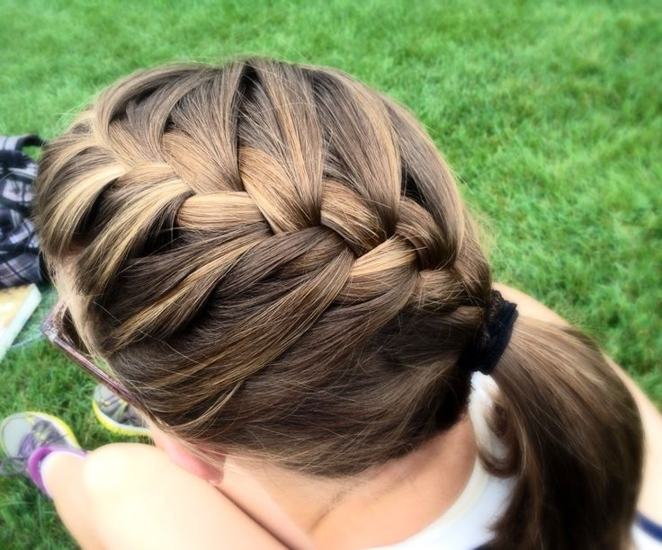 Hair Trend Braids French Design With Regard To Braid Trends Braid Trends With Regard To Best And Newest Sculptural Punky Ponytail Braids (View 6 of 15)