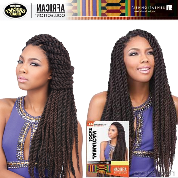 Hairlicious – Sensationnel African Collection Jamaican Locks 44Inch Pertaining To Most Recent Jamaican Braided Hairstyles (View 13 of 15)